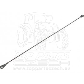 wolframové pilovací lanko, 300mm,∅2,2mm