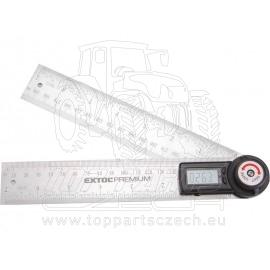 úhloměr digitální s pravítkem, 200mm