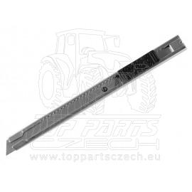 nůž ulamovací celokovový nerez, 9mm, s Auto-lock