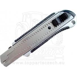 nůž ulamovací kovový s kovovou výztuhou, 25mm