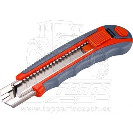 nůž ulamovací s kovovou výztuhou, 25mm