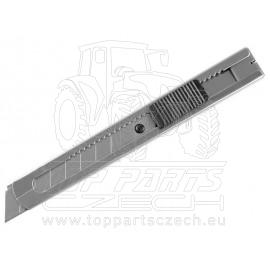 nůž ulamovací celokovový nerez, 18mm, s Auto-lock