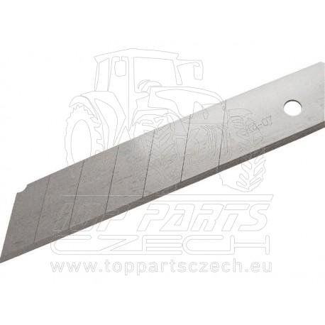 břity ulamovací do nože, 25mm, 10ks