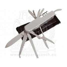 nůž zavírací 11dílný s pouzdrem, 90mm