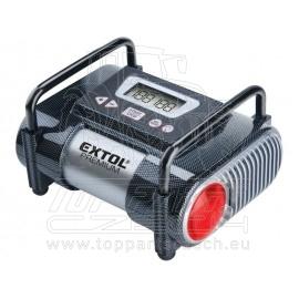 kompresor do auta 12V, automatický s LCD a světlem, 12V, 6,9bar