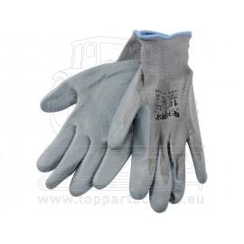 """rukavice nylonové polomáč. v nitrilu, S/velikost S/8"""""""