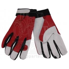 """rukavice pracovní kožené, velikost 10"""""""