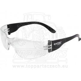 brýle ochranné, čiré