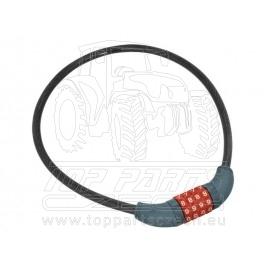 zámek na kolo-lanko, kódové zamykání, 10x650mm