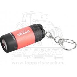 svítilna LED, USB nabíjení - přívěšek