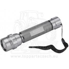 svítilna kovová s LED žárovkou, LED žárovka (30 000mcd)