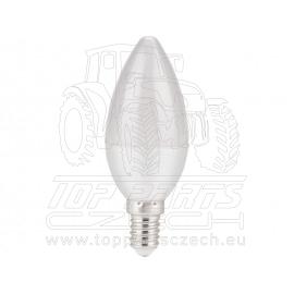 žárovka LED svíčka, 5W, 410lm, E14, teplá bílá