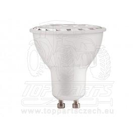 žárovka LED reflektorová bodová, 7W, 580lm, GU10, teplá bílá, COB