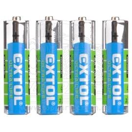 baterie zink-chloridové, 4ks, 1,5V AA (LR6)