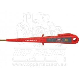 zkoušečka napětí 100 - 250V, délka 190mm