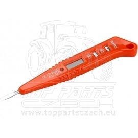zkoušečka napětí digitální s LED světlem 12-220V, délka 146mm