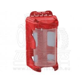 organizér modul. závěsný - červený, 210ml (60 x 92mm), PP