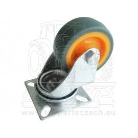 kolečko termoplast otočné,∅50mm