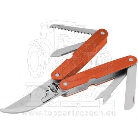 nůžky zahradní multifunkční 5 v 1, NEREZ