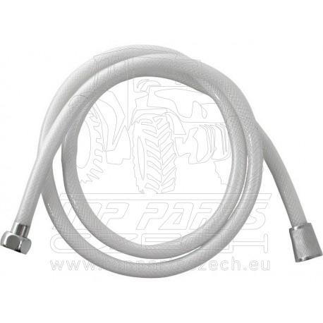 hadice sprchová, bílá, 150cm, PVC