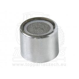 perlátor pro S-zakřivené ramínko, M24, chrom
