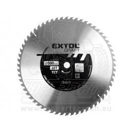 kotouč pilový s SK plátky, 500x3,0x30mm