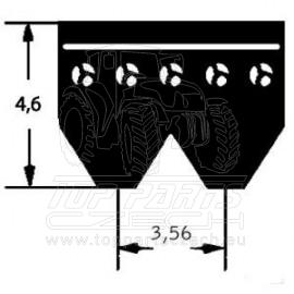 8PK2380 Klínový řemen ozubený