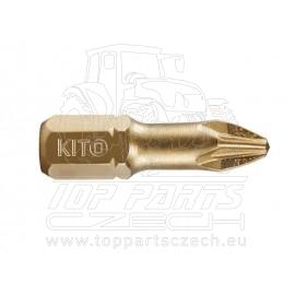 hrot, PZ 2x25mm, S2/TiN