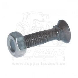 1235109VK Pluhový šroub se čtyřhr. M12x35 10.9