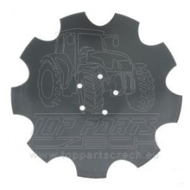 28071305KR Podmítací disk ozubený 520x6