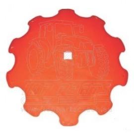 KK121221R Podmítací disk ozubený 660x6 Kverneland