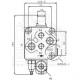 SD111009 Řídicí ventil EW, s dalším ved