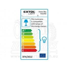 světlo závěsné se svorkou 230V, 5m kabel, E27