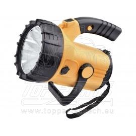 svítilna 500lm CREE XML s bočním světlem 300lm, nabíjecí, CREE XML 10W LED, COB 3W