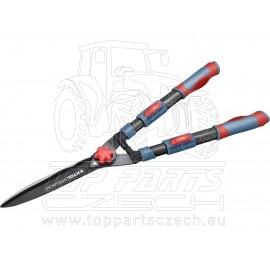 nůžky na živý plot s vlnitým ostřím teleskopické, 690-890mm