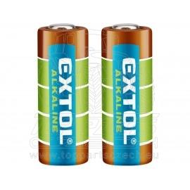 baterie alkalické, 2ks, 12V (23A)