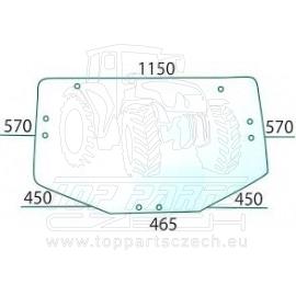 L213351 Zadní sklo klenuté