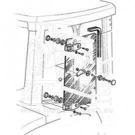 L113305 Postranní sklo pravé