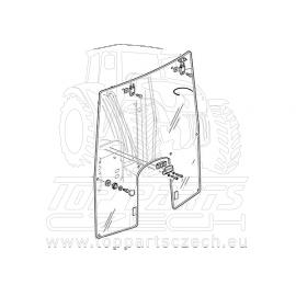 L157629 Přední sklo nastavitelné, pro SE modely s nízkou kabinou