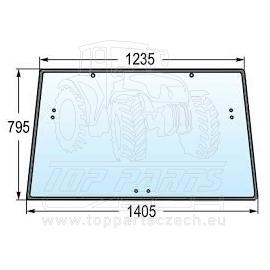 R110990 Zadní sklo