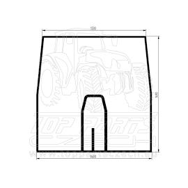 R135977  Přední sklo