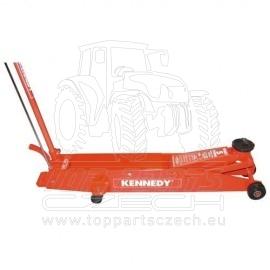 Pojízdný hydraulický zvedák, 10-tun, KENNEDY