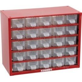 Box zásobník na malé součástky  KENNEDY