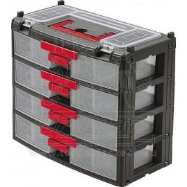 Box na součástky se 4 zásuvkami KENNEDY