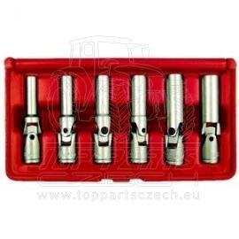Sada nástrčných klíčů kloubových na žhavící svíčky 6ks KENNEDY