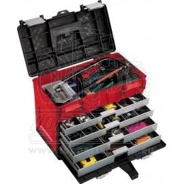 Box na nářadí 4-zásuvky, nárazuvrzdorný 450x250x325mm KENNEDY
