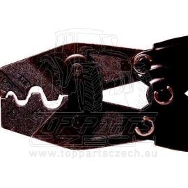 Náhradní čelisti na neizolované konektory