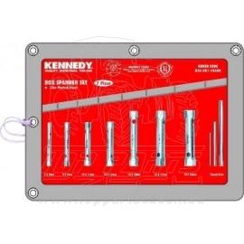 Sada klíčů trubkových 7ks 6-19mm KENNEDY