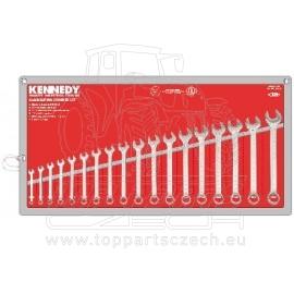 Sada klíčů očkoplochých Cr-V DIN3113 14 ks