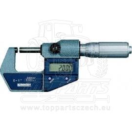 Mikrometr třmenový digitální 0-25 mm